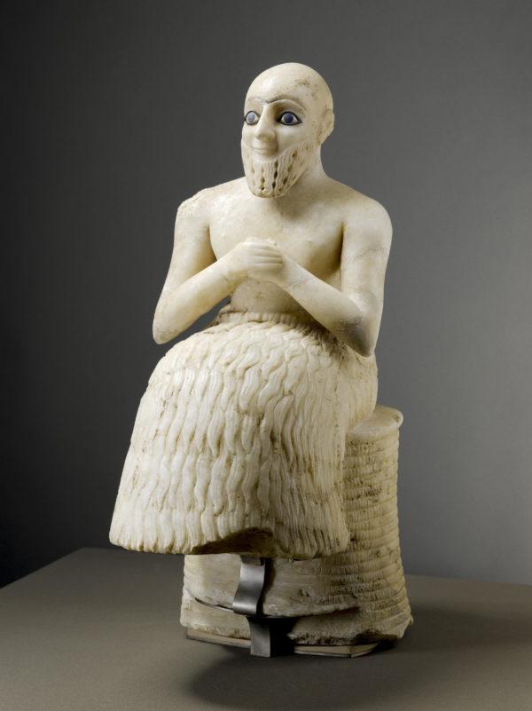 Exposition Louvre-Lens (statue d'Ebih-Il)
