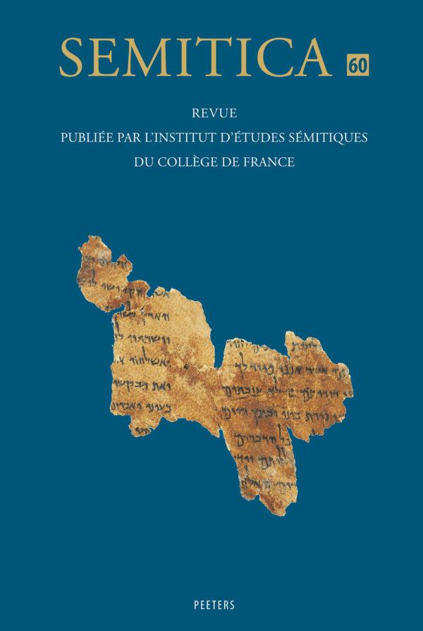Semitica 60 front cover